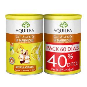 Aquilea Articulaciones | Colágeno + Magnesio + Ácido Hialurónico - Pack 2x375g