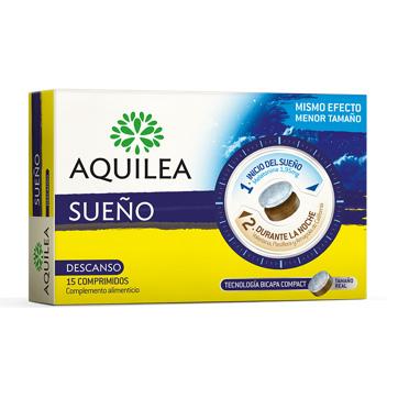 Aquilea   Sueño (Descanso con Melatonina) - 30 Comp.   Farmateca
