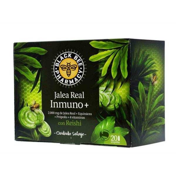 Black Bee | Jalea Real Inmuno+ - 20 viales x 10ml