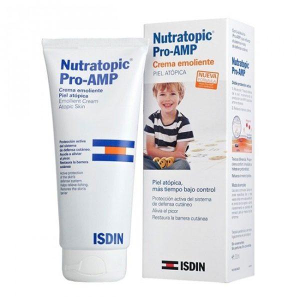 Isdin | Nutratopic Pro-Amp Crema Emoliente (Piel Atópica) - 200 ml