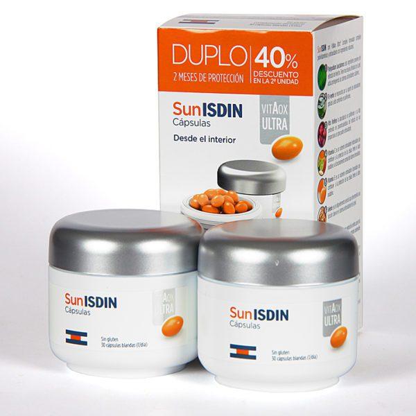 Isdin | SunISDIN Vitaox Ultra Cápsulas Duplo - 60 Caps. | Farmateca