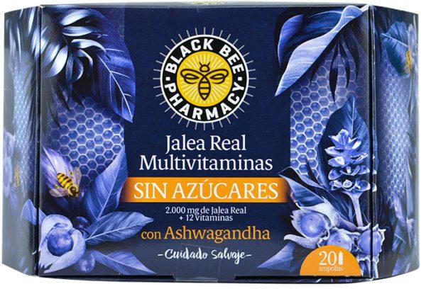 Black Bee | Jalea Real Multivitaminas - 20uds. x 10ml