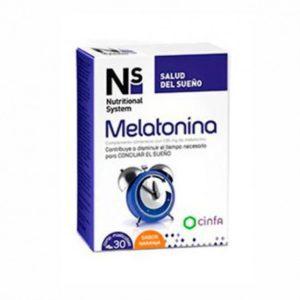 NS | Melatonina (Salud del Sueño) - 30 Comprimidos