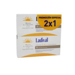 Ladival | Cápsulas Solares Antioxidantes - 60 caps. PACK 2x1