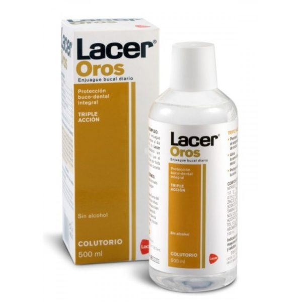 Lacer   Oros Colutorio (Enjuague Bucal) - 500ml