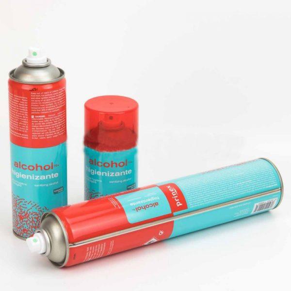 Prinex | Alcohol Higienizante (Desinfectante en Spray) - 500ml