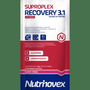 Nutrinovex | Suproplex Recovery 3.1 Fresa - 40g
