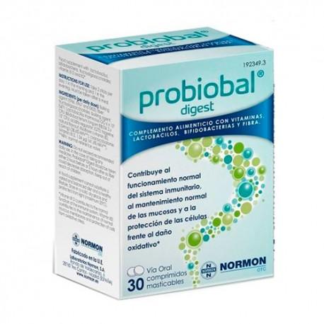 Normon | Probiobal Digest (Sistema Inmune) - 30 Comprimidos Masticables
