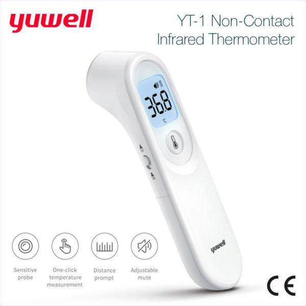 Yuwell   Yt-1 Termómetro Infrarrojo Sin Contacto