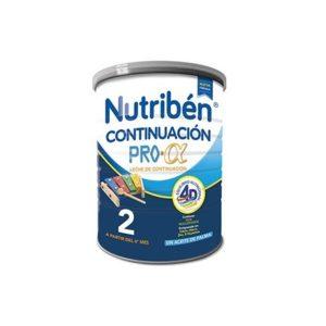 Nutriben | Continuación ProAlfa 2 (Leche en Polvo Bebés) - 800g