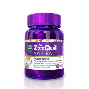ZzzQuil | Natura Melatonina (Insomnio - Nerviosismo) | 60 Gominolas