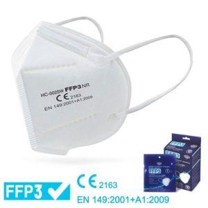 Ultra Plus Seguridad   Mascarilla FFP3 Sin Válvula (CE 2163)