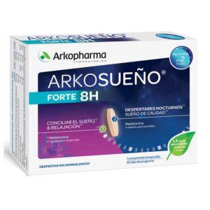 Arkopharma | ArkoSueño Forte 8 Horas - 30 Comprimidos